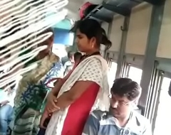 Tamil girl groping in train