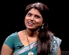 VID-20140207-PV0002-Chennai (IT) Tamil 25 yrs old celibate bonny and hot TV anchor Ms. Girija Sree (FM ground # 38B-30-34) speaking sexily roughly sexologist to 28 yrs old Madurai Kannan in Captian TV &lsquo_Andharangam&rsquo_ show sex video-2