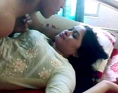 Indian sex indian-sex couple foreplay giving a fondle