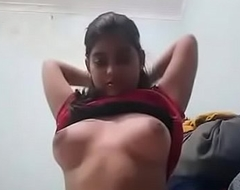 Cute Indian Girl Unveiling In the introduce Camera