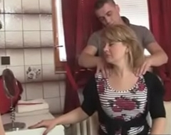 hawt old lady in law seduced hard by his stepson -xtube5.com