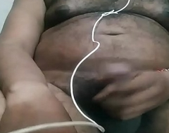 desi indian men masturbation primarily webcam adjacent to satisfy aunty