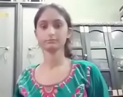 Indian cute gals self video